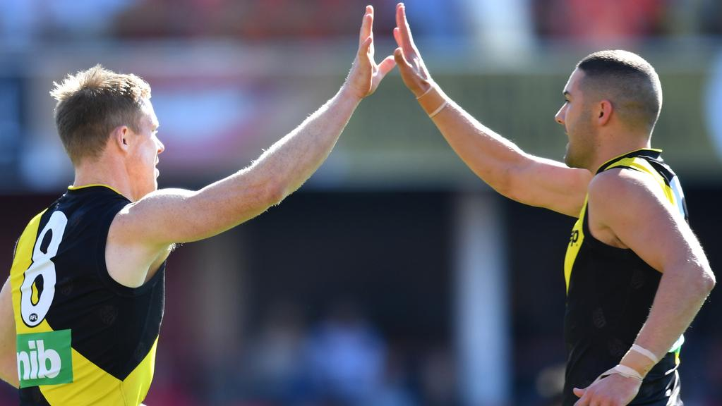 Jack Riewoldt kicks 10 goals against Gold Coast to move to