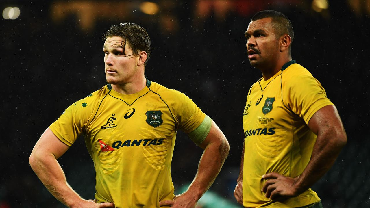 Michael Hooper and Kurtley Beale will have key roles to play for the Wallabies in 2019.
