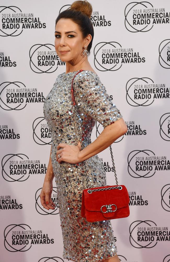 Nova's Kate Ritchie has won Best Entertainment Presenter at the annual ACRA awards. Picture: Lawrence Pinder