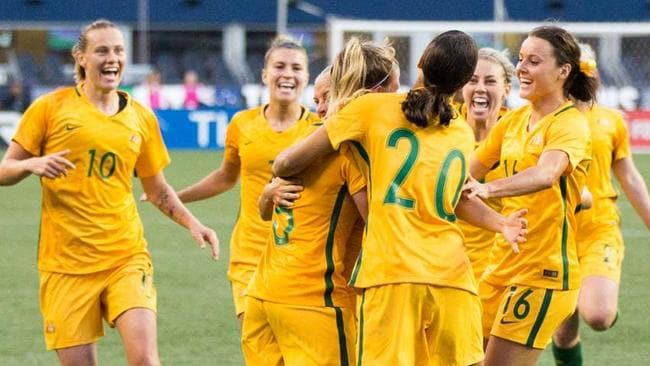 Matildas triumph at the, the Tournament of Nations in the U.S.