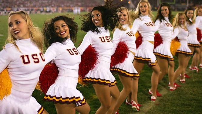 Image result for southern cal cheerleaders