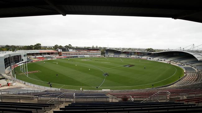 North and the Pies played in front of no fans. Picture: AFL Photos/Getty Images