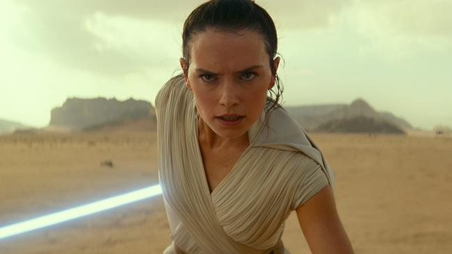 Daisy Ridley as Rey in  <i>Star Wars: The Rise of Skywalker</i>. Picture: Disney / Lucasfilm