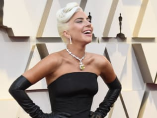 Lady Gaga had a message for Australia after her big Oscars night. Source: Getty Images