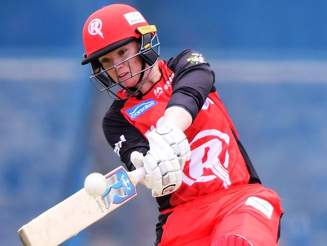 Jess Duffin plays WBBL and AFLW. (Photo by Mark Brake/Getty Images)