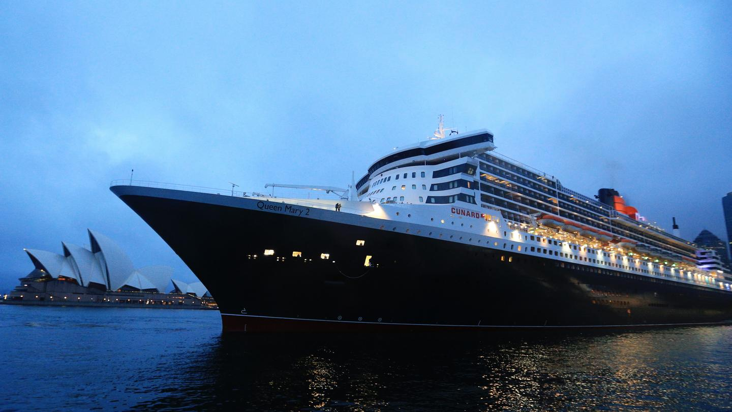 Cunards Queen Mary Leaves Sydney On A Voyage Of Discovery - Cruise ship movements sydney harbour