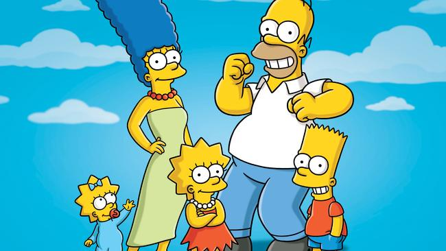 The Simpsons is celebrating 30 years on air. Picture: AP Photo/Fox