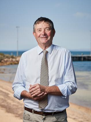Mayor of Kangaroo Island, Michael Pengilly. Picture: Matt Loxton
