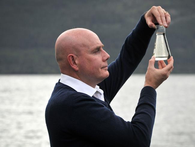 University of Otago geneticist, Professor Neil Gemmell. Picture: AFP