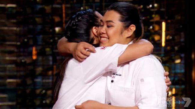 Tasia and Gracia crowned My Kitchen Rules champions