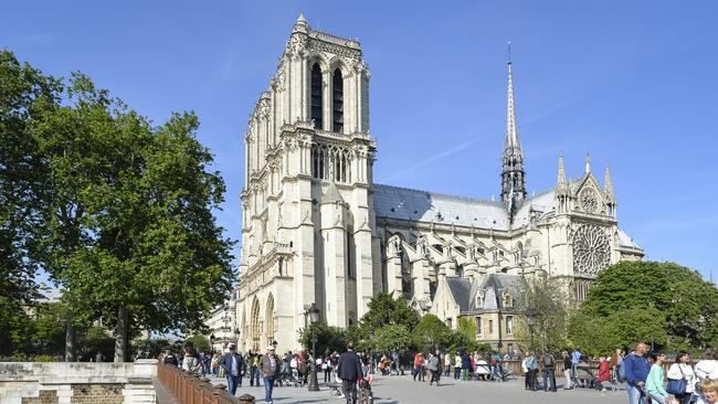Millions of people visit Notre Dame each year. Picture: iStock