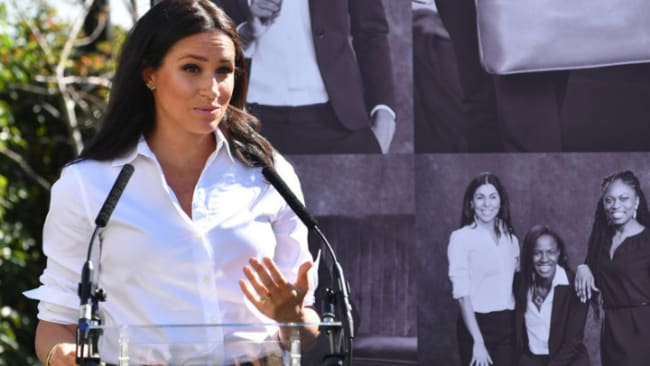 Meghan Markle has ended her maternity leave to launch a fashion line that will help unemployed women get back to work. Source: Getty Images