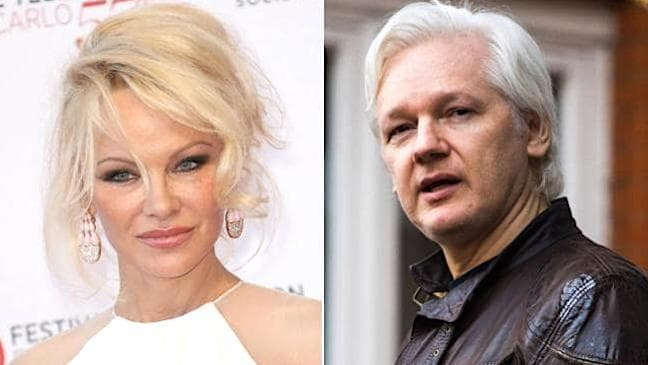 Pamela Anderson talks about her admiration of Julian Assange