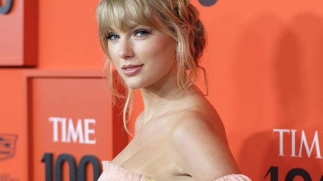 Swift has just released a new album. Picture: Dimitrios Kambouris/Getty Images for TIME