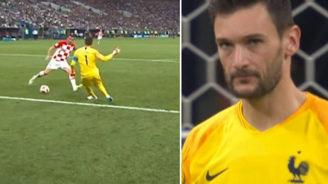 Hugo Lloris won't want to see this too many times.