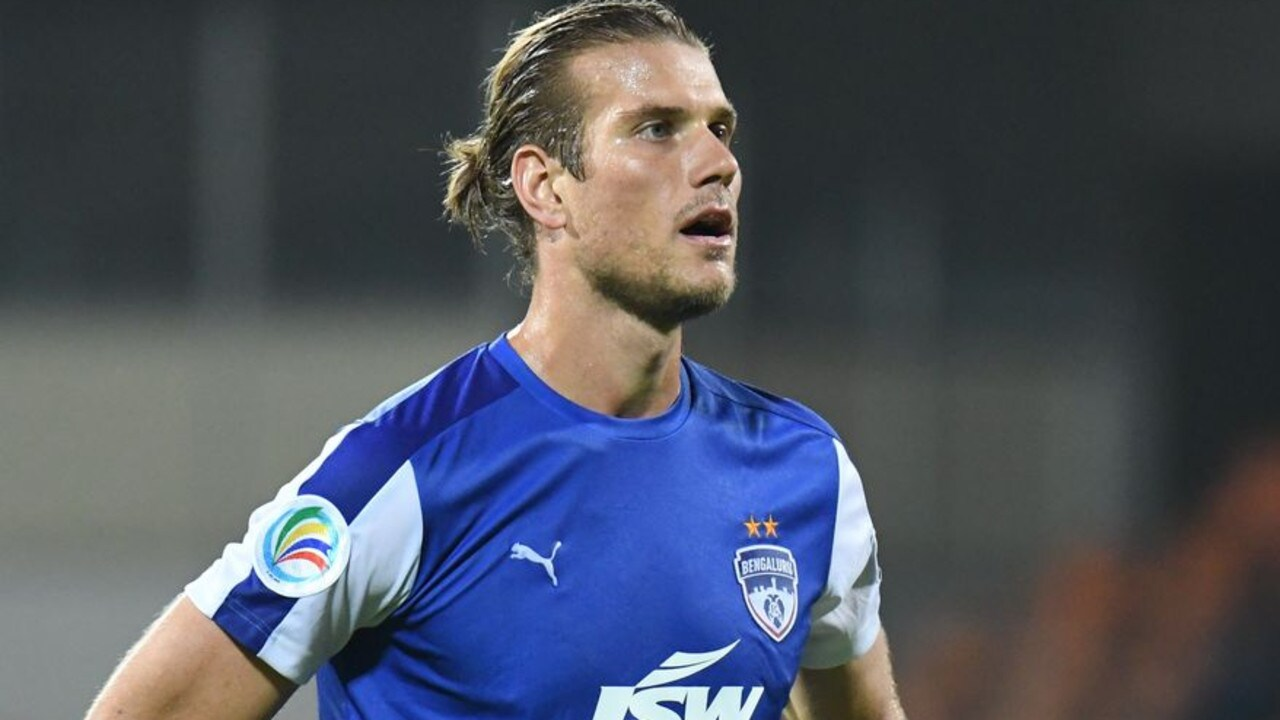 Erik Paartalu in action for Bengaluru FC