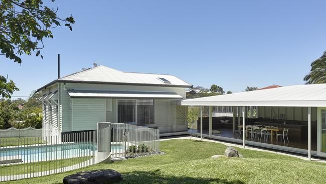<b>AFTER: </b>Morningside residence designed by Kieron Gait Architects took out the 2018 Houses Award for House Alteration &amp; Addition over 200 sqm. Picture: Christopher Frederick Jones.