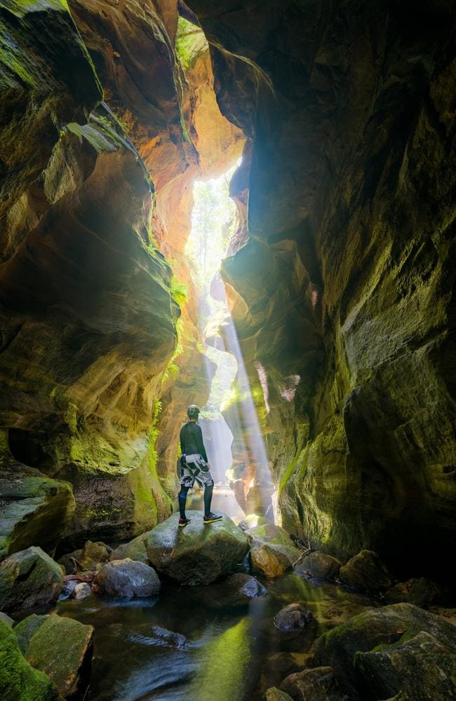 Discover Sydney's secret canyons | Daily Telegraph