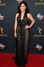 Julia Louis-Dreyfus attends the 68th Annual Primetime Emmy Awards on September 18, 2016 in Los Angeles, California. Picture: AP