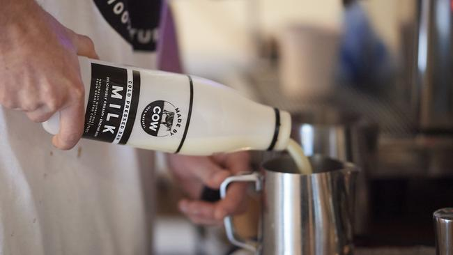 Made By Cow is behind the world's first raw milk.