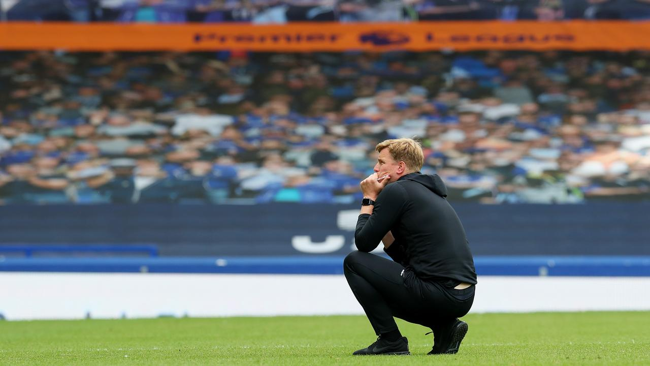 Eddie Howe was almost in tears.