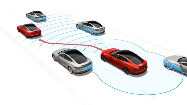 Tesla's assisted driving mode Autopilot appears to be safer than human drivers.
