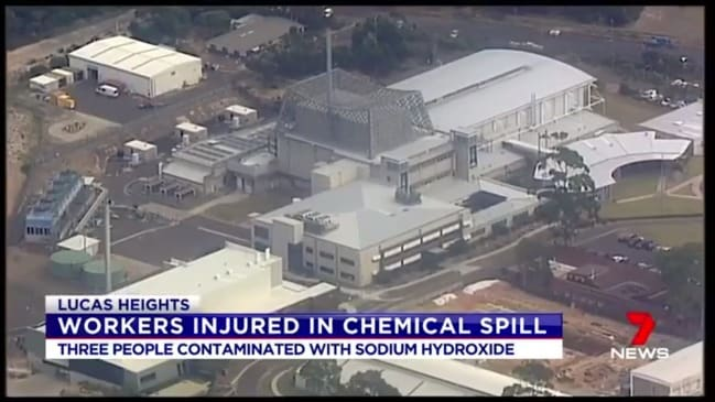 Workers exposed to radiation at Sydney nuclear facility (7 News)