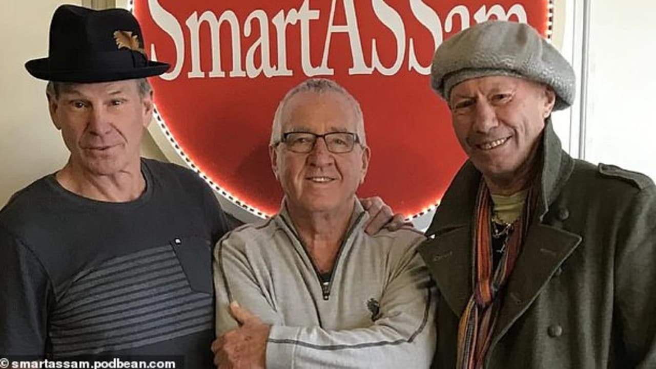 Sam Newman, Mike Sheahan and Don Scott host a weekly podcast.