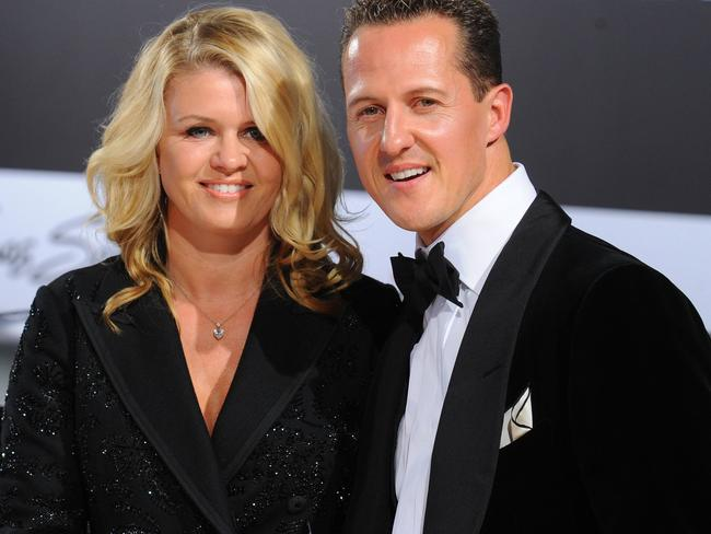Formula-One driver Michael Schumacher and his wife Corinna.