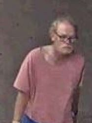Police in Redcliffe have released an image of a man who may be able to assist them with their investigations
