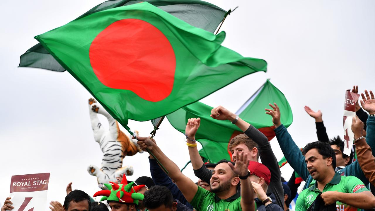 Bangladesh supporters celebrate
