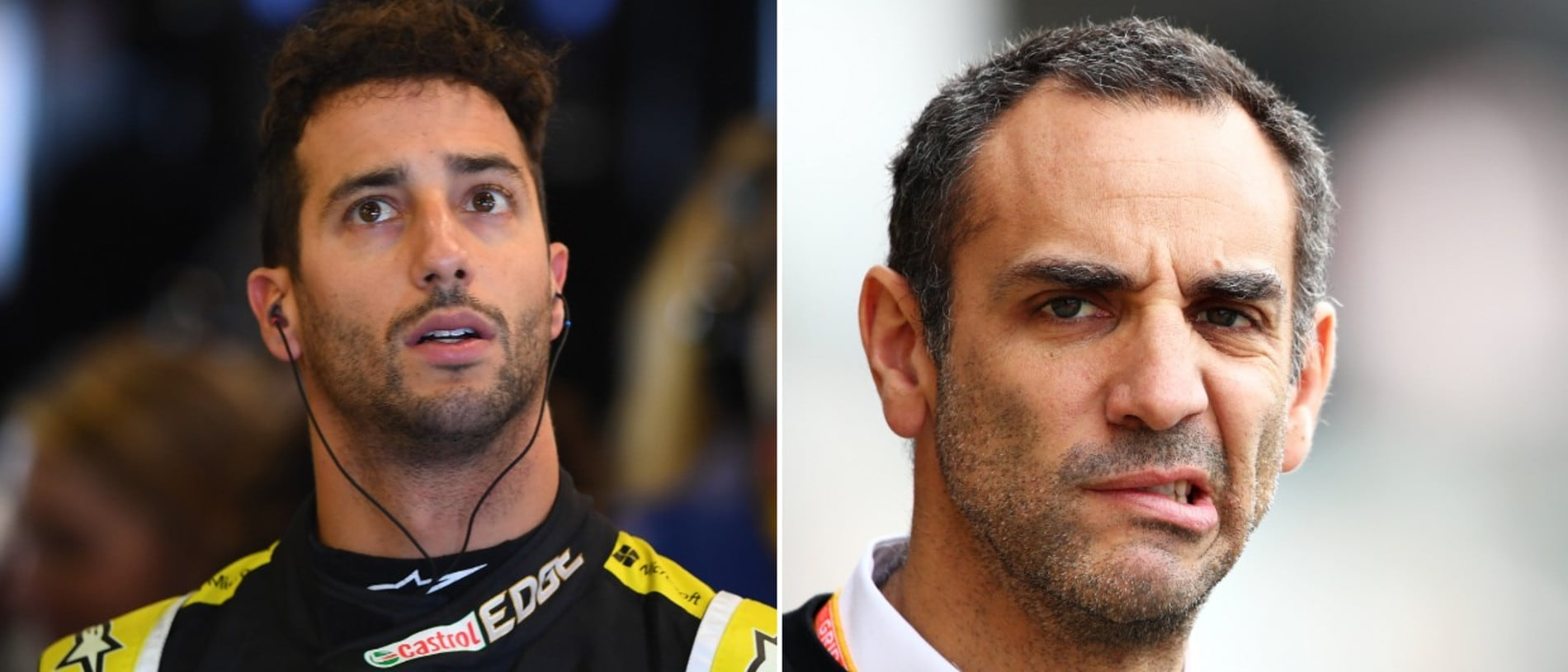 Cyril Abiteboul said Daniel Ricciardo's result was 'nothing to be proud of'.