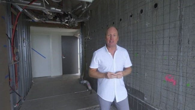 Ross Greenwood spoke with several affected Opal Tower residents. Picture: Supplied