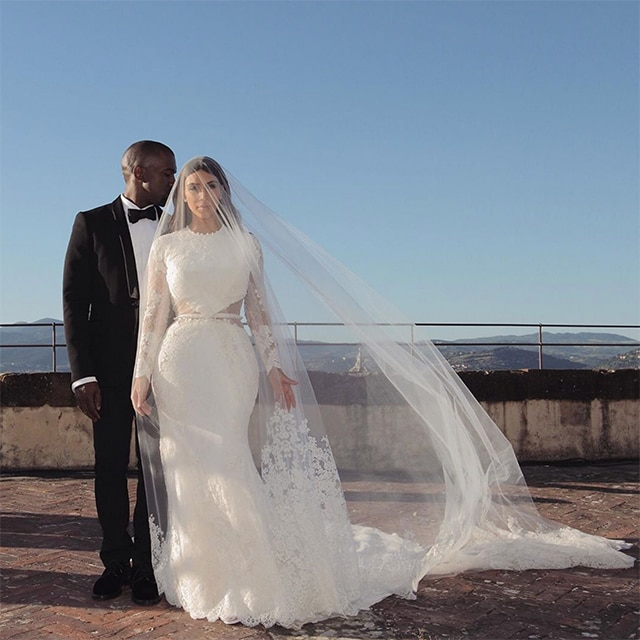 Kim Kardashian West and Kanye West's wedding album