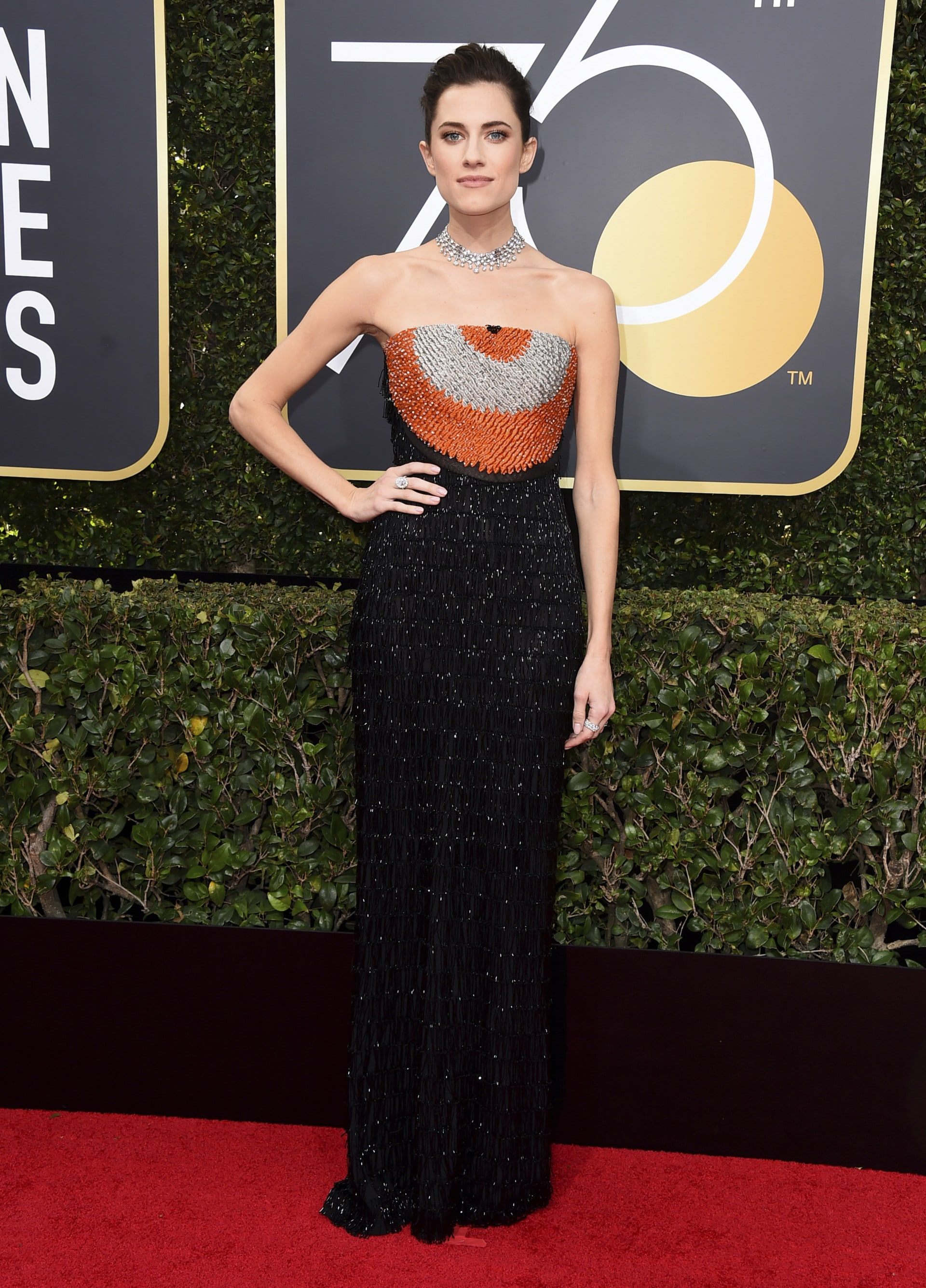 What they're wearing on the Golden Globes 2018 red carpet