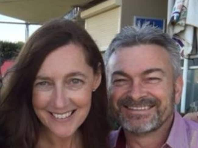 Karen Ristevski and husband Borce. His lawyer said on Wednesday he is the 'number one' murder suspect.
