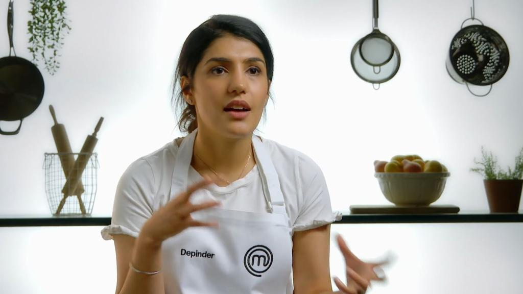 The episode brings back a MasterChef classic of an invention test. Picture: Channel 10