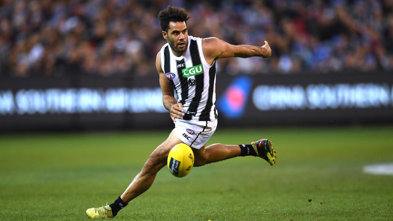 Daniel Wells in action during a game at the MCG last season.