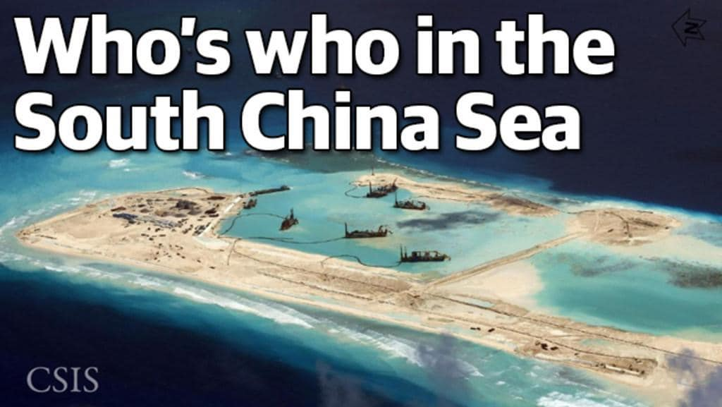 Who's who in the South China Sea dispute