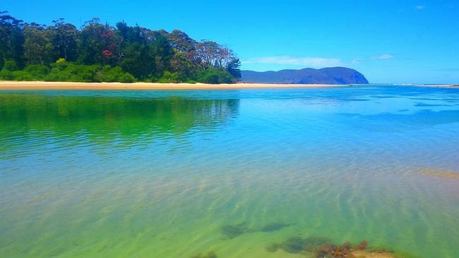 Cloudy Bay, Bruny Island. Picture: Greg Faull