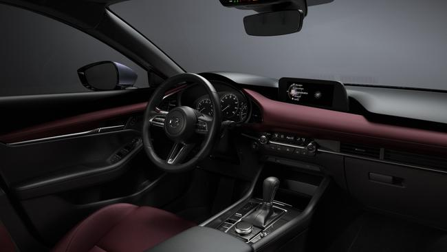The Mazda3 will have Apple CarPlay and Android Auto as standard.