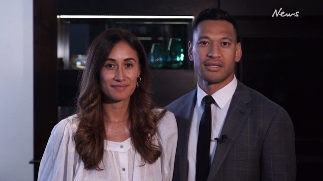Israel Folau comments on settlement with Rugby Australia