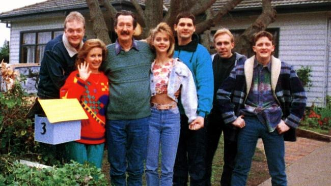 Shot 20 years ago this year: Bana with the Kerrigan Clan from  <i>The Castle.</i>