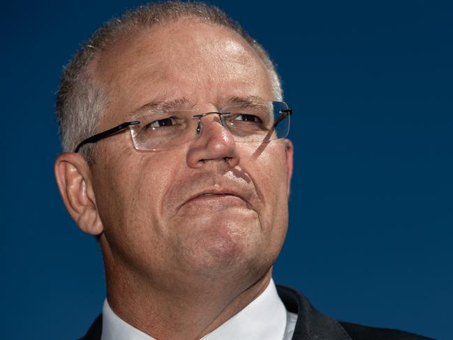 This is Scott Morrison's first Budget as prime minister. Picture: AAP Image/Richard Wainwright