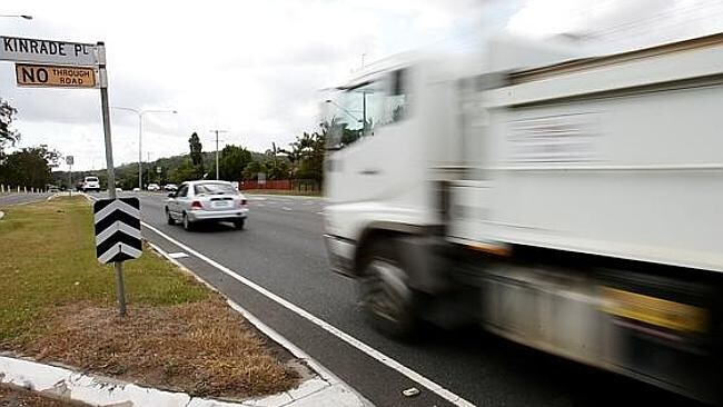 October 20: scene of the fatal crash on Old Cleveland Road, Brisbane in which a 31-year-old woman died from massive head injuries. Picture: Peter Wallis.