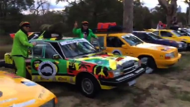 S**tbox Rally puts car wrecks to epic 3800km road test to