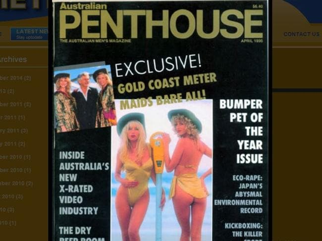 Meter Maids chief executive Roberta Aitchison was a Penthouse cover girl and centrefold model in 1990.