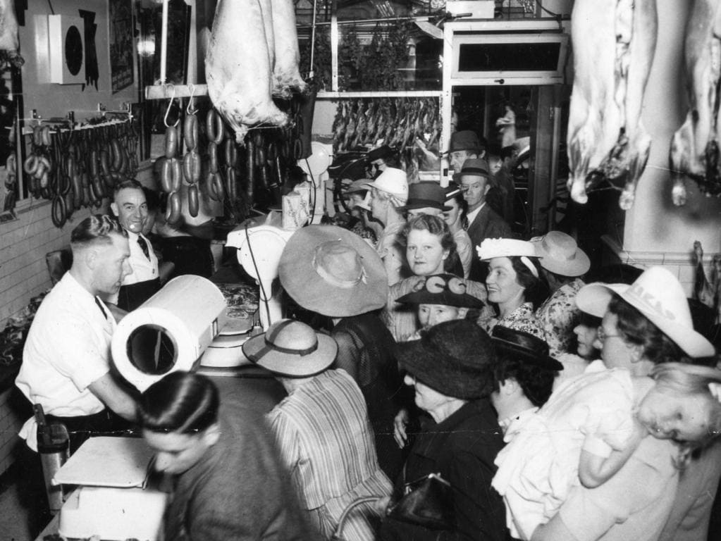 Adelaide's old butcher shops of the 1940s, 50s and 60s