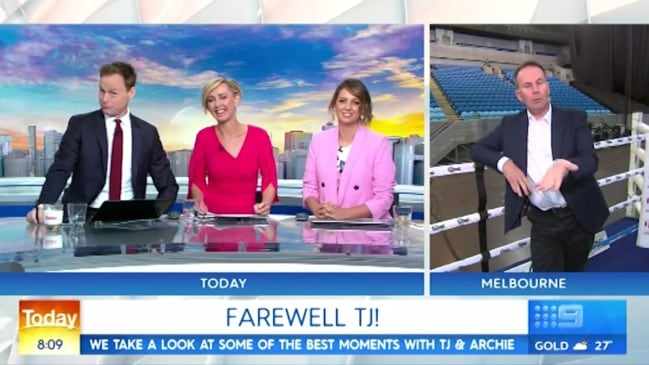 Today Show's awkward Tony Jones farewell