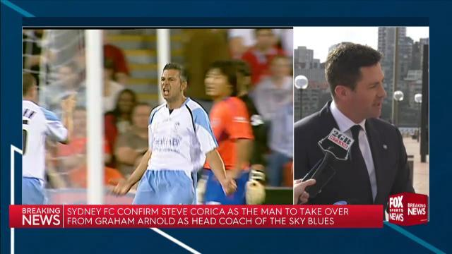 Steve Corcia named Sky Blues coach
